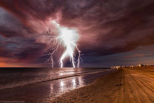 Lightning Giant: Photograph by Nathan Agostini