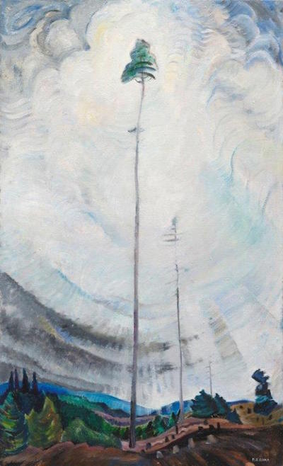 Scorned as Timber, Beloved of the Sky, 1931 painting by Emily Carr