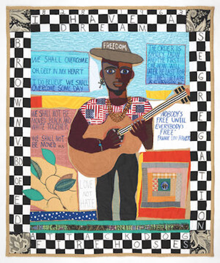 Freedom: Art Quilt (2013) by Michael A. Cummings