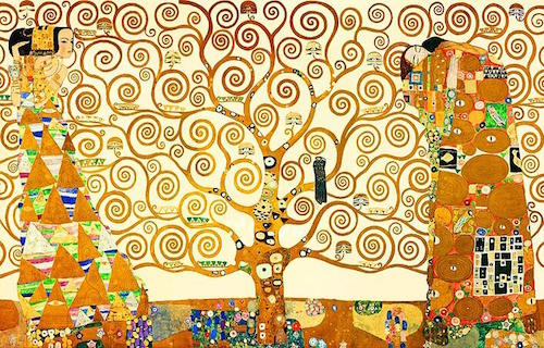 The Tree of Life, Stoclet Frieze: painting by Gustav Klimt