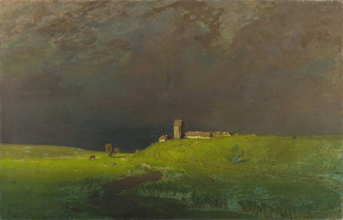 After the Rain: painting (1879) by Arkhip Kuindzhi