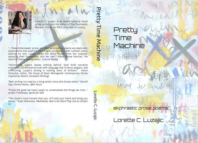 Full book cover of Pretty Time Machine by Lorette C. Luzajic