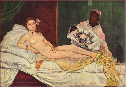 Olympia, 1863 painting by Eduoard Manet