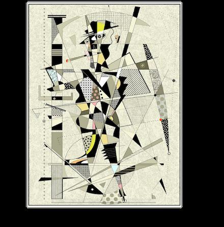 Bon Vivant, 2009 digital pigment print by Mark Meyer