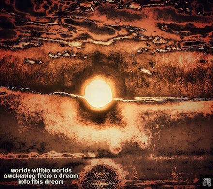 worlds within worlds, haiga by Mark Meyer