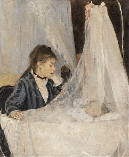 The Cradle, 1872 painting by Berthe Morisot