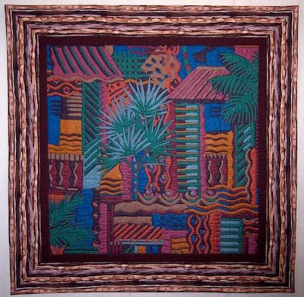 La Villa: Art Quilt (2010) by Scott Murkin