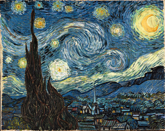 The Starry Night: painting by Vincent van Gogh
